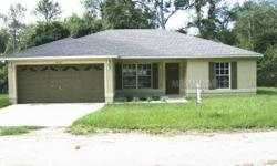 2006 STUCCO BLOCK 3 BEDROOM/ 2 BATH/ 2 CAR GARAGE HOME ON LEVEL LOT. Possible Septic tank/drain field issues - needs inspection. Listing originally posted at http