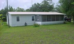 Everything is ready in your new home. Built in 1991 this well maintained Doublewide manufactured home will appeal to the entire family. Large kitchen addition has new vinyl flooring and loads of cabinets and countertop space. Over 1,500 sq. ft. of living