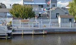 Fabulous Contemporary Shore House on a Lagoon! Impressively Renovated and Expanded in 2004! 4/5 BR, 3 BA! Open Floor Plan,Custom Designed Kitchen,MBR on 1st Floor,Florida Room,FR w/Marble FP,Large Sitting Area/Office,Cozy Sunlit Hobby Room,HUGE BONUS