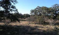 Beautiful lot private and serene with wildlife and no city lights. Several build sites. RMR is an area of nice Hill Country homes on acreage sites for privacy. Come enjoy your coffee on your back deck with the deer and turkey. Two gated private HOA