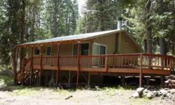 GREAT - Cabin on the West side of Lake Cascade. Superbly maintained, great deck, on a paved road. Borders large timber land. National Forest easy access. Boat Ramp only 1/2 mile away. Contact Dwight@CascadeLakeRealty.com www.CascadeLakeRealty.com Listing