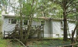 Estate Sale....Make this house your HOME! With a little TLC, this affordable home can be yours with its open floor plan, kitchen with breakfast bar, living room with stone fireplace, spacious family room, 3 bedrooms, 2 baths, 1 car garage and full