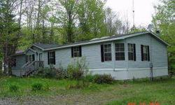 This double-wide would be a great vacation home or it would be a great home for all seasons! Only 2 miles away from Stinson Lake and only minutes from the White Mountains National Forest! Listing originally posted at http