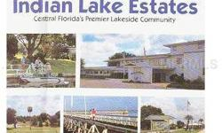 1/2 acre corner lot in golf & water community of Indian Lake Estates. Build your dream home and enjoy boating, fishing and golf on a year round basis.