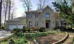 Classic brick home is elegant & stunning throughout. Multiple recent upgrades make this palatial home a MUST SEE! Spacious flrplan w/cath ceilings! Massive KIT w/granite counters, brkfst bar, island cooktop, wall oven, bfst RM. FR w/brick FP surround&