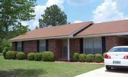 This three bedroom two bath brick home sits in a quiet neighborhood only minutes to schools, schopping, pharmacy, & grocery store. This home has only had one owner and is very well maintained. The kitchen with stained cabinets & all appliances is open to