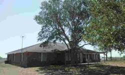 200 acre Live Oak County ranch, convenient to IH 37 and Lake Corpus Christi. 4 bedroom hilltop all-electric ranch house with 2 A/C units, office, fireplace, water softener, spacious covered porch and patio. Large neighbors, with 3 sides high fenced.
