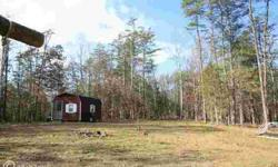 Ready now for your private weekend get away camping or hunting or start planning your new dream home now. Listing originally posted at http
