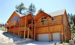 Custom log style home ( *Generates $60,000 on vacation rental per year*)Fully furnished with upgraded furnishings and features; Gorgeous granite counter tops, all top of the line SS appliances, wood flooring, soaring ceilings, huge master bedroom and