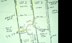 This is a 2.25 acre lot for sale by owner with operational utilities (water tap, septic system and electric) already established on property so you can build without all the fees. The property has a current health inspection on the septic system. Plenty