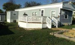 Mobile home for sale in park, 2 bedrooms one bathrooms and w/den, nice mobile home,lot rent $ 400.00 per month, asking $ 7,000.00, financing availablenew deck, new roof on addition, all appliances stay, stove,fridge, washer-dryer, heat pump. Listing