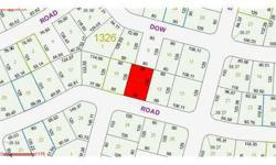 Bank Owned High and Dry Lot, partially treed, NOT A SHORT SALE. This bank has four lots that can be sold as a package in the same area. Ask for info. Close to schools and shopping.