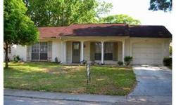 SHORT SALE - Good shape, nice neighborhood, Inside features include, ceramic tile floors, alarm system, ceiling fans. Outside features include, sprinkler system on well, screened and covered porch and garage door opener. No flood. Deed Restricted comm