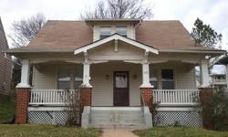 Great starter home and the price is right! This 1 story home is being sold As is and is in need of a little TLC. While the third bedroom is without a closet, hardwood floors, nine foot ceilings, and vinyl replacement windows make this charming house a