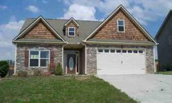 Nice 4 bedroom, 2.5 bath home. Family Room has a fireplace and high cathedral ceiling. Master Bath has a double vanity, garden tub and separate shower. Large 4th bedroom over the double garage more likely used as a Bonus Room, but counted as a Bedroom by