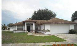 SHORT SALE. Ideal family home in small development. Corner lot. Great room open to screened patio-large eat-in kitchen plus formal dining room. Split bedroom plan-new carpet and freshly painted-This is a very nice home to see. You will be pleasantly surpr