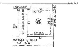Great location on this bank owned lot in Richmond Hill. Sold as-is with no disclosures. Listing originally posted at http