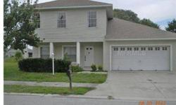 3 bedroom 2.5 bath home built in 2005 with a 2 car garage located in Auburndale. Ready to move in. Backs community common park area.