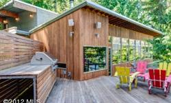 Fantastic modern lakefront home on Lake Wenatchee has been featured in architectural books and tv shows. Enjoy lake views from every bedroom, kitchen, dining room, living room and even the climbing gym.Listing originally posted at http