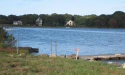 Waterfront homesite on Narrow River for you to build your peaceful retreat. Town water and sewer available. Perfect setting for summertime fun and entertaining on your riverfront homesite. Boat access to the ocean.