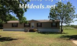 2,176 square feet makes this beautiful 5 bedroom 3 bathroom doublewide home. Rest on 5.12 acres in lovely Natalia, TX, this country home is perfect for anyone who want a serene, open sky view of the country. Inside this home is a ceiling Fan, beautiful