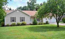 All one level home in Granite Falls for $99,900. Move In condition, 3 bed/2 bath, double attached garage with utility room, level semi private back yard and newer roof. Excellent location conveient to Hickory or Lenoir NC surrounded by other well kept