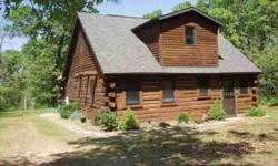 Log home on private setting! Perfect getaway for any holiday. Open concept main floor, main floor master bedroom, large loft, plenty of sleeping availabilities. Close to Lake Arrowhead and all the amenities. Call today for your private showing to see your