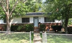 Vintage eat-in kitchen with pass-through to dining area and large living room. Master bedroom with bath. Three large rooms in basement can easily be divided. Wood floors throughout main level. Large deck in fenced in yard. Major systems
