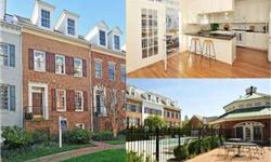 LUXURY LIVING IN AWARD WINNING OTV IN THE HEART OF OLD TOWN. Rarely available Gibbon II model in a gorgeous courtyard location is better than new. Open, light & bright w/HW flrs & stairs, brand new upgraded carpet, Chef's kitchen w/granite & new