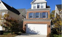 LARGE 4YR OLD HOUSE IN KINGSTOWNE, CONVENIENT TO METRO AND ALL MAJOR ROADS, HARDWOOD FLR ON 1ST LEVEL WITH 10FT CEILINGS, DUAL ZONE HEAT AND COOL, LARGE KITCHEN, TWO CAR GARAGE , DECK AND BIG BACK YARD. LOTS OF STORAGE, LOCATED ON QUIET STREET, WITH