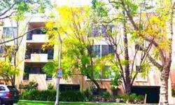 VERY SPACIOUS (APX1,800 SQFT) LIGHT & BRIGHT NEWLY DECORATED FRONT FACING UNIT WITH 2 BEDROOMS, DEN & 2 BATHS IN A CONVENIENT, DESIRABLE N. OF WILSHIRE LOCATION. GREAT OPEN FLOOR PLAN W/ GENEROUS CLOSETS IN A SMALLER, WELL MAINTAINED, CONTROLLED ACCESS