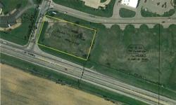 1.245 ACRES - COMMERCIAL VACANT GROUND ADJACENT TO THE WAL-MART PLAZA Thursday, April 16, 2015 @ 5 PM Amberwood Parkway, Ashland, OH 44805 (Corner of East Main and Amberwood--Adjacent to Wal-Mart Plaza)Great commercial corner lot, highly visible, located