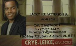 Call Jacky today for a free list of foreclosures in Limestone, Madison, & Morgan County!Jacky Patterson Jr.Crye-Leike Realtors Athens(256) 874-6033