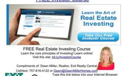 Learn the core principles of real estate investing online! http