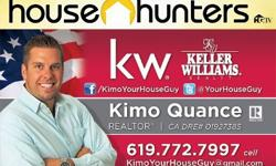 Call me if your are getting transferred to San Diego and need to buy a home! Search my website for homes here