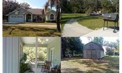 Custom 1995 home on about 2 acres! Nice features: circular driveway, nice entry way, volume ceilings, spanish lace ceiling texture, split bedrooms plan, inside utility, custom storage for kitchen pantry and his/her walk-in closets in master bedroom.!