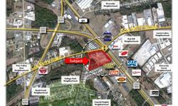 OFFERED FOR SALE this 4.2 Acre Commercial Tract which is located at the signalized intersection of U.S. Highway 501 and Cox Ferry Road in Horry County South Carolina. The site has been improved with a Storm Water Retention Pond, and has excellent
