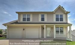 WOW! Move-in ready 2 story has formal dining room plus additional breakfast room for all your entertaining needs. Very nice master suite has private bath with corner jet tub and separate shower. Finished, walk-out basement has 4th bedroom, 3rd full bath