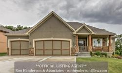 LIKE NEW! 2 year old home still sparkles. Granite counters, lots of hardwoods. Main level features 3 bedrooms and an open floor plan. Exquisite master suite has gorgeous walk-in shower. Lower level has 4th bedroom, 3rd full bath, plus full kitchen.