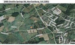 29 acres in Rockingham County near Rockingham Hospital and JMU in Harrisonburg, Virginia. Potential for deveopment. Property has dwelling on the premises.telephone 301-725-2965 James Wilson Thomas
