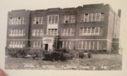 """School built in 1920 approximately 60'x110' 3 stories tall.2nd and 3rd floor classrooms are 2 3/4'X3/4"""" Tongue and groove clear white oak. Attached gymnasium approx. 80'x100' 2 3/4""""x3/4"""" maple floor minimum 6000 sf of each. Will sell entire property"""