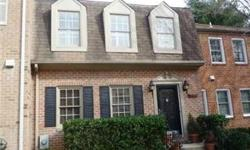 Spacious, brick updated Townhome in Inverness Knolls. Great price to be in Potomac. Bamboo wood Floors, fireplace, crown molding, deck overlooking beautiful serene garden Large, finished lower level with possible playroom or office, full bath, and family