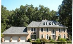 Gorgeous 7 BR 7 Full & 2 Half Bath Georgian Colonial on quiet cul de sac in lovely Falconhurst. Two Master suites, one on main floor, one on upper, bar, entertainment rooms,two story family room, sauna, steam shower, deck and patio make the home a delight