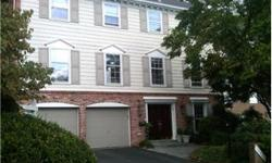 ** Huge and VERY charming Georgetown style attached row home wtih Georgetown like garden & Patio, 2 Car Gar, main flr office,Hardwoods throughout, HUGE bkfst room,white marble kitchen with white corian counters, *Prime location seconds to