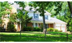 """4 Level Colonial---6 BR, 3 1/2 BA, double garage, finished 3rd floor, 2 fireplaces, freshly painted and newly finished hardwood floors, corner lot close to places of worship, shopping, recreation, and transportation. Estate sale-- house to convey """"as is""""."""