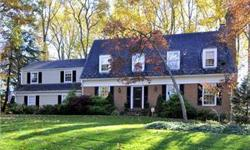 Gorgeous Custom-Built Williamsburg Colonial on Premier Cul-de-sac. Detail woodworking incls hardwood floors, oversized windows, moldings, TRUE QUALITY! Home office, extra closets, great flow, 2 FP's, T/S Kit, huge deck and patio area . Fin LL rec rm