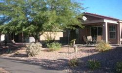 Manufactured Home located in Gold Canyon, Arizona. 55 plus community. Stucco siding, Adobe Roof, Carpet/Vinyl Flooring. Single Car port and Shed attached. Well landscaped. Excellent condition. Complete with Furniture and accessories