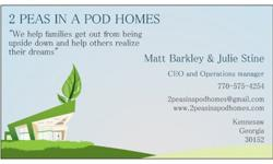 We buy homes of any kind, fast, and with no hassles. Want it gone? Call us NOW at 770-575-4254 or check out our website on www.2peasinapodhomes.com