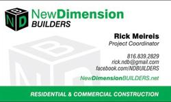 Why live in someone else?s home when you can easily build your own? We will help you create a custom home to satisfy both your dreams and your budget. With our totally transparent pricing you will see exactly where every dollar is spent.New Dimension