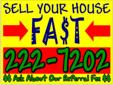 Call 520-222-7202Our first goal when you call is to determine together if it makes sense for us to even discuss doing business together. We want to structure a win/win solution.I buy houses! AS-IS condition!!! Call 520-222-7202!!! Quick CASH 4 your